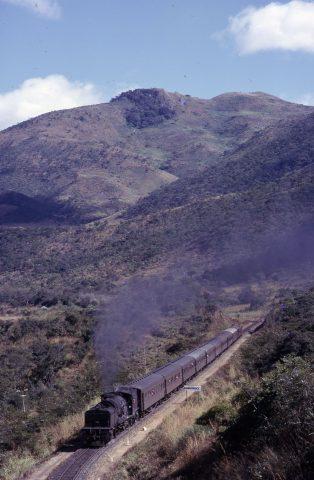 mozambique 14a garratt rhodesia steam loco train where there's smoke