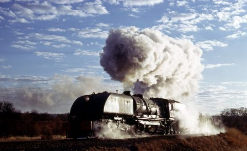 15A steam loco rhodesia zimbabwe where there's smoke