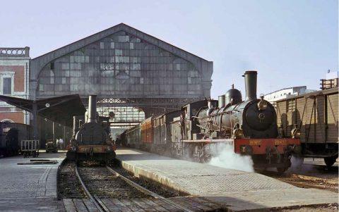 Old Spanish Steam Locos