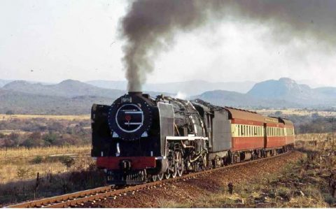 15F Tzaneen South Africa Steam loco where there's smoke
